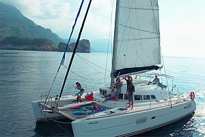Private luxurious catamaran from Soller: catamaran charter for up to 12 persons
