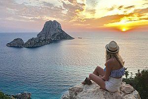 Sonnenuntergang auf Ibiza mit einer Jeep Tour