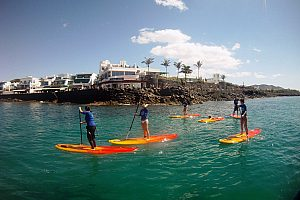 Stand Up Paddling SUP Lanzarote
