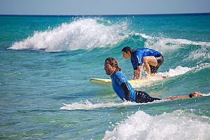 Learn surfing in Fuerteventura - beginners course in Morro Jable