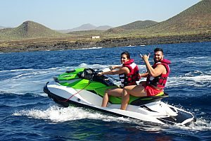 South of Tenerife: jet ski safari to the sights at the coast