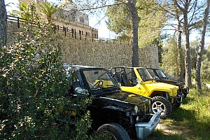 Exciting jeep tour in Mallorca - driving fun in a mini jeep cabriolet