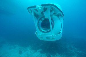 Submarining in Portocolom in Southeast Mallorca