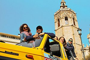 Valencia City Tour im Jeep
