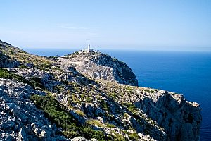 Majorca hike on Formentor in the north to Puig de na Blanca