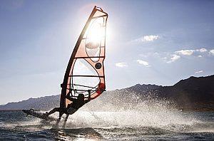 Windsurfen auf Gran Canaria im Südwesten