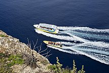 """Speedboat tour to Cabrera: round trip, """"blue cave"""" and short stay"""