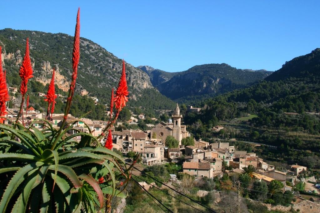 Mallorcan village Valldemossa