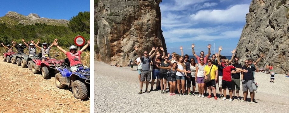 Group or incentive events in Mallorca