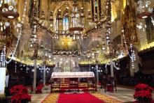 Heilig Abend in der Kathedrale Palma