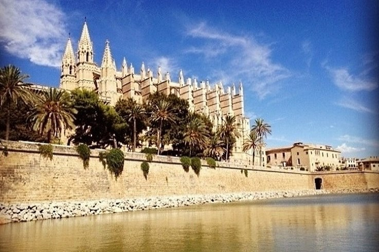 Cathedrale La Seu in Palma Oldtown