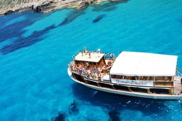 Majorca party boat