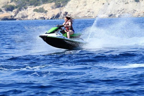 Ride a jetski on Majorca