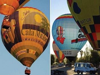 Mallorca im Winter Abenteuer Ballooning