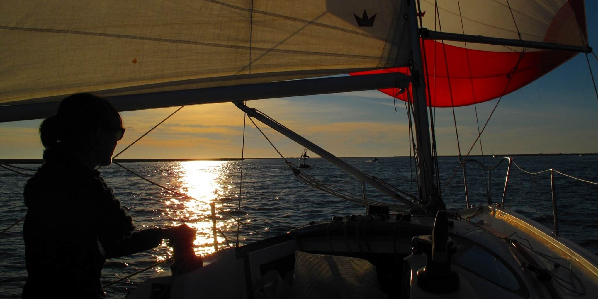 Segeln Sonnenuntergang Algarve