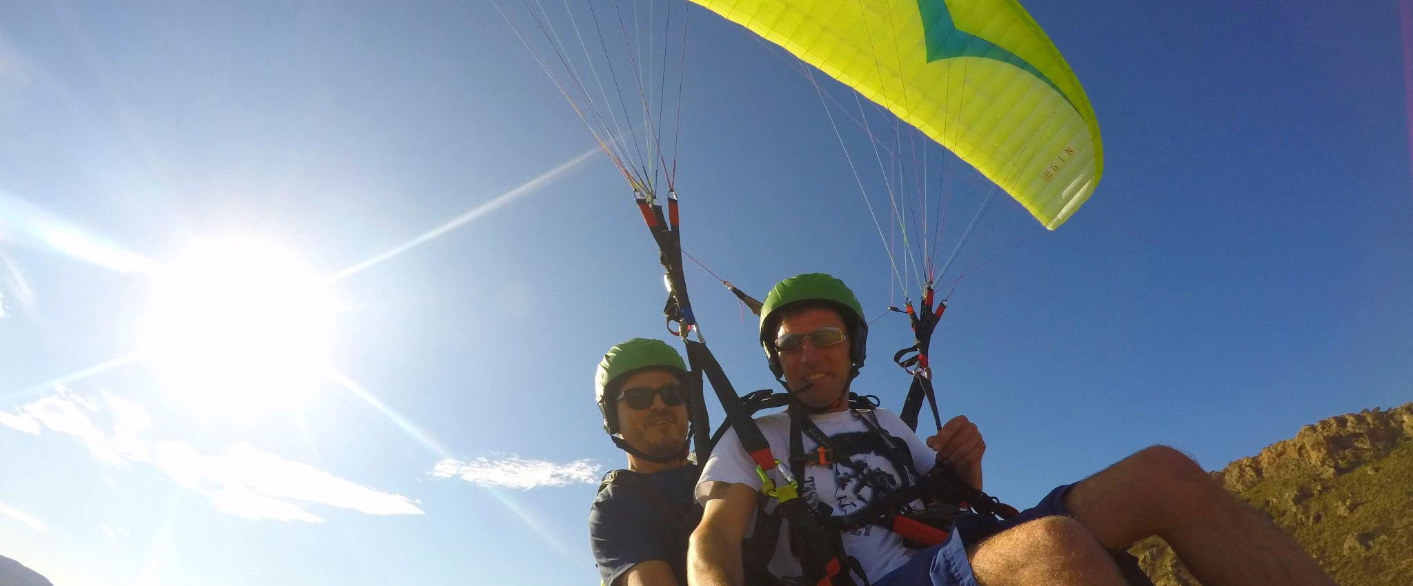 Paragliding en Benidorm Costa Blanca