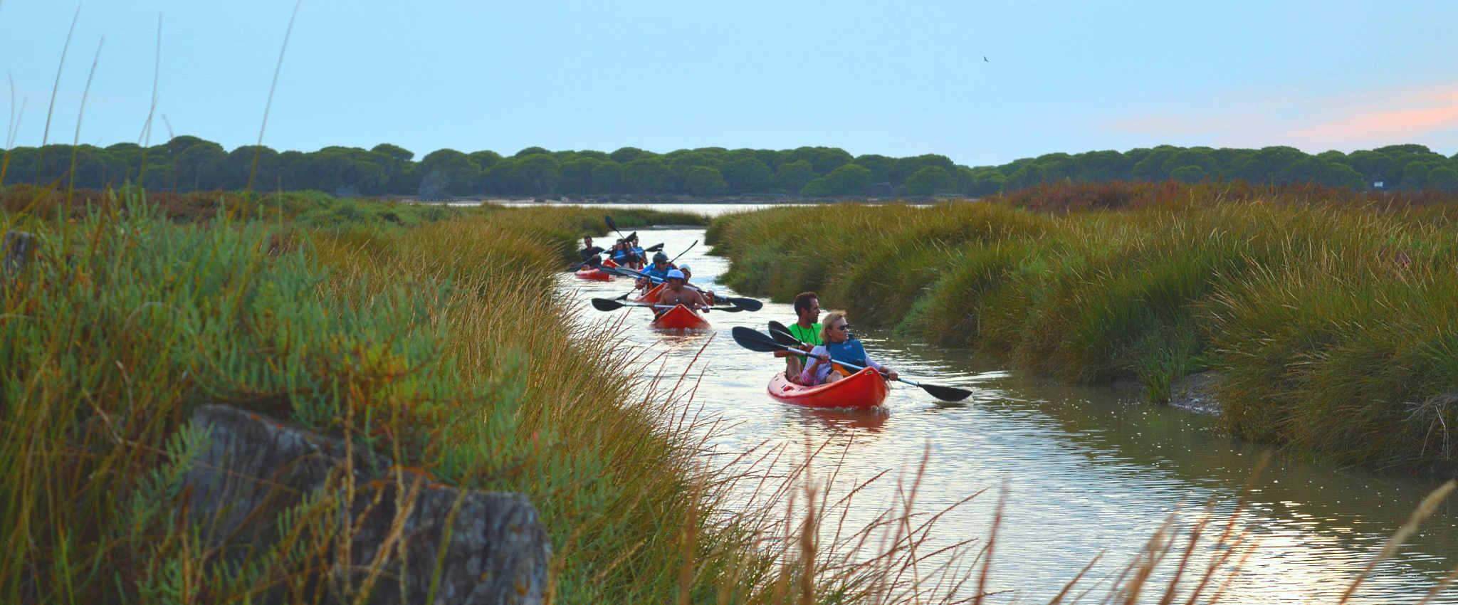 Kayak Costa de la Luz