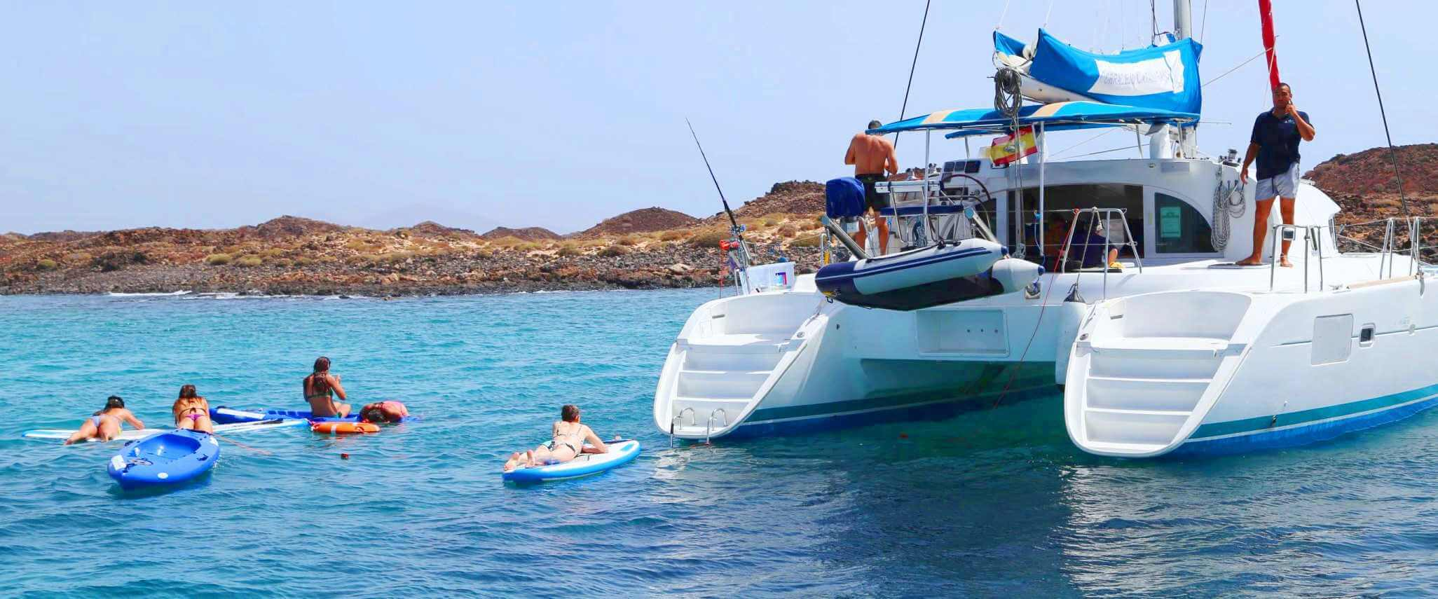 Fuerteventura catamaran