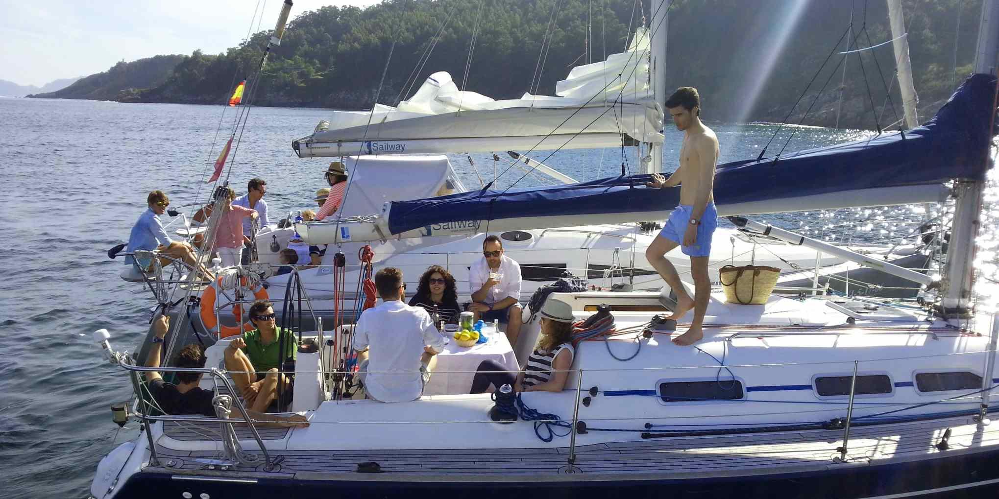 Sailing Trip Galicia