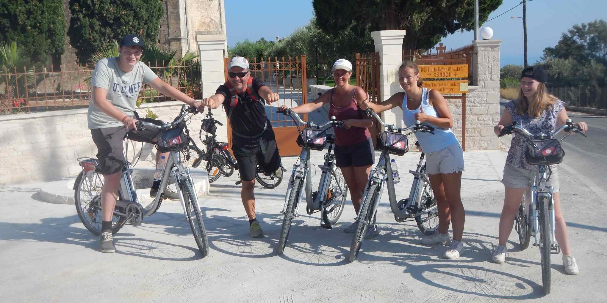 Bike Tour Crete