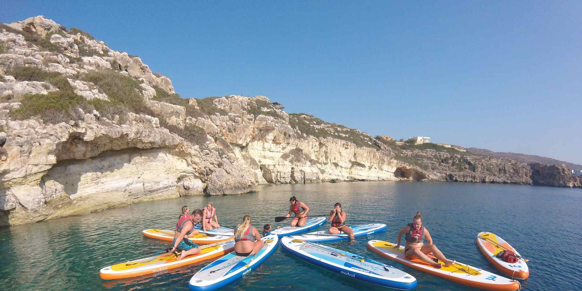 Standup paddle SUP Crete