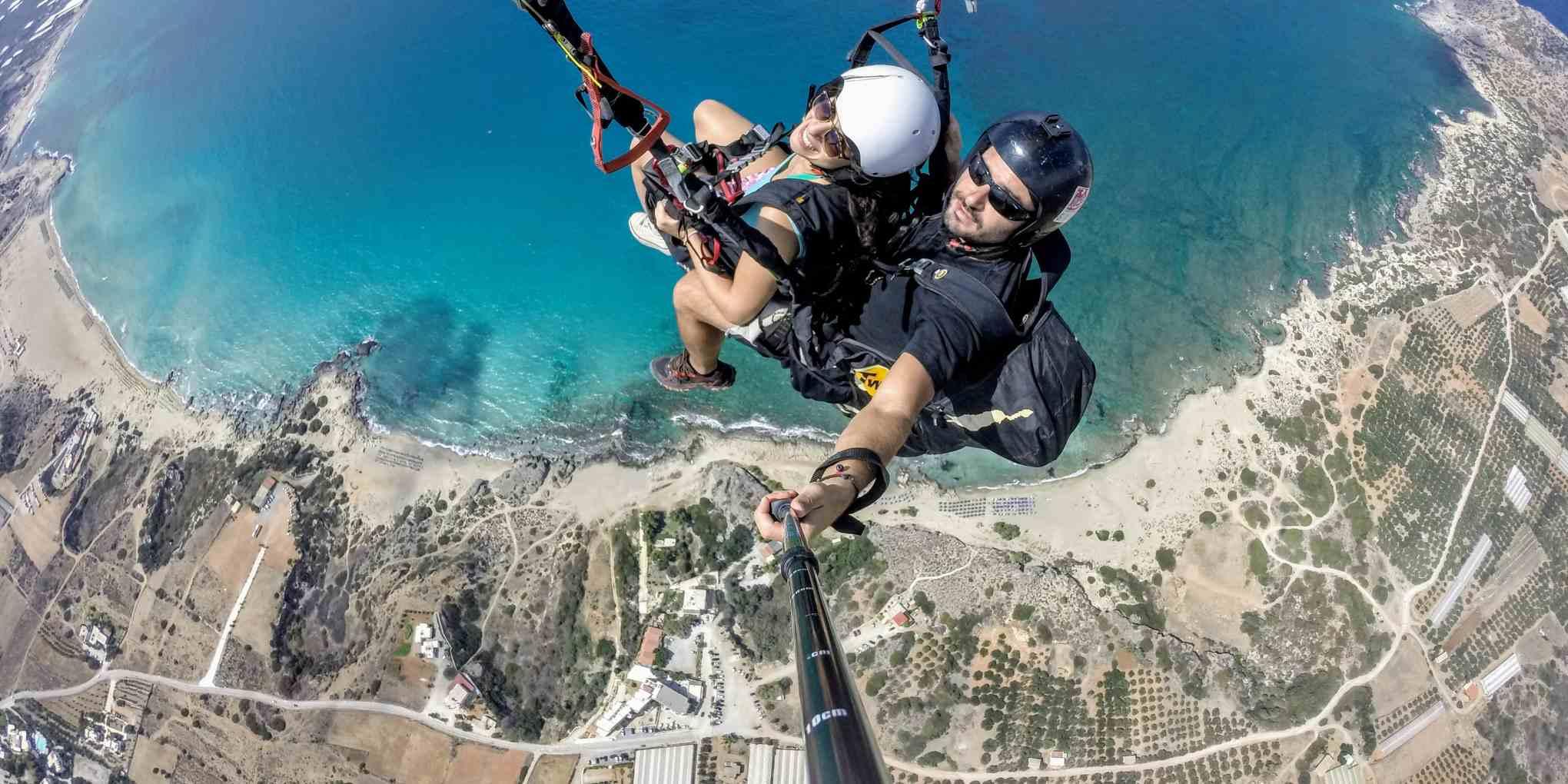 Paragliding Crete