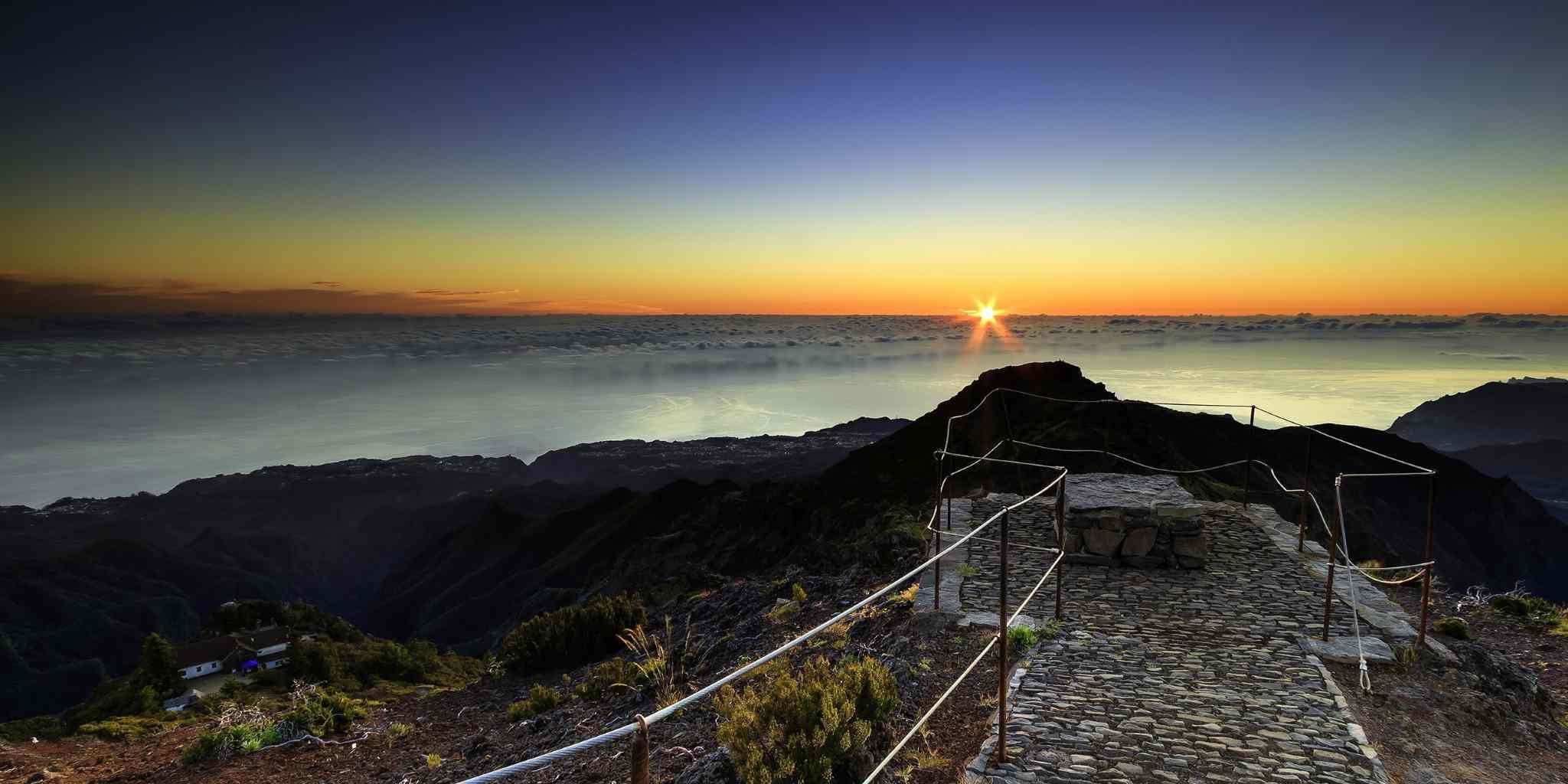 Madeira Sonnenuntergang