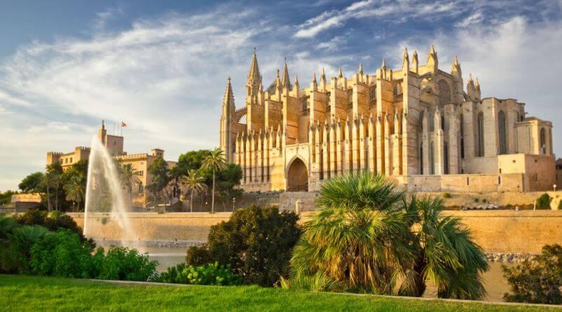 Kathedrale La Seu Palma Mallorca