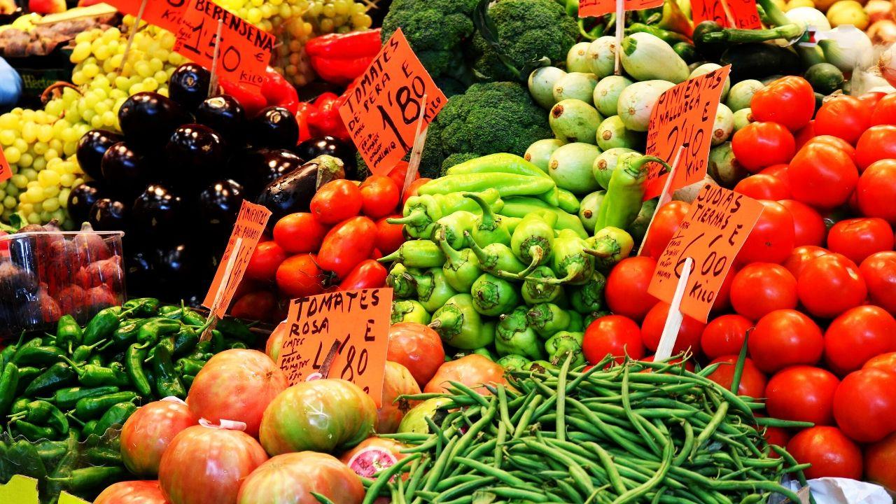 Gemüse vom Malloerca Markt