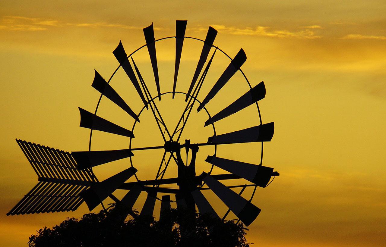 Die Windmühlen auf Mallorca prägen das Landschaftsbild