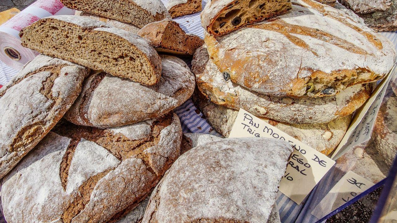 Brot vom Wochenmarkt