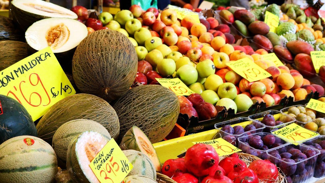 Obst vom Wochenmarkt