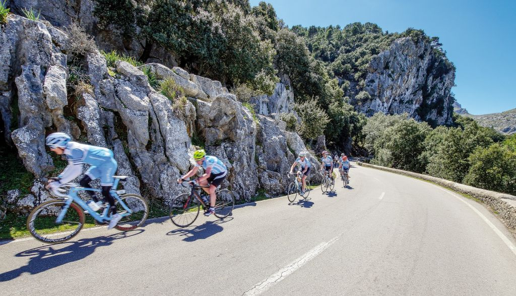 Cycling on Mallorca
