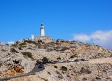 Radtour Cap Formentor