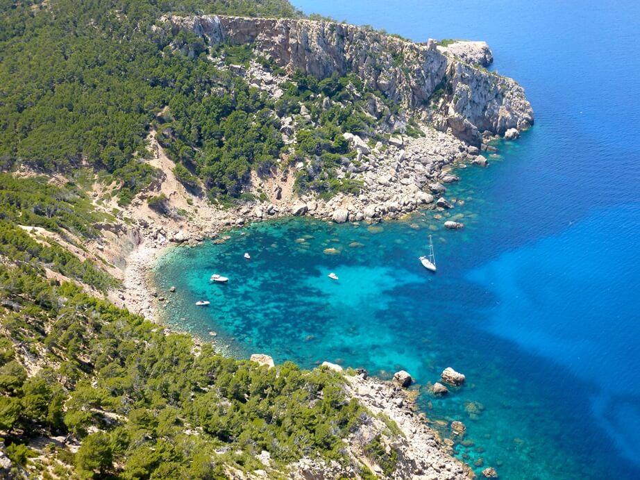 Schöner Strand auf Mallorca: Cala en Basset