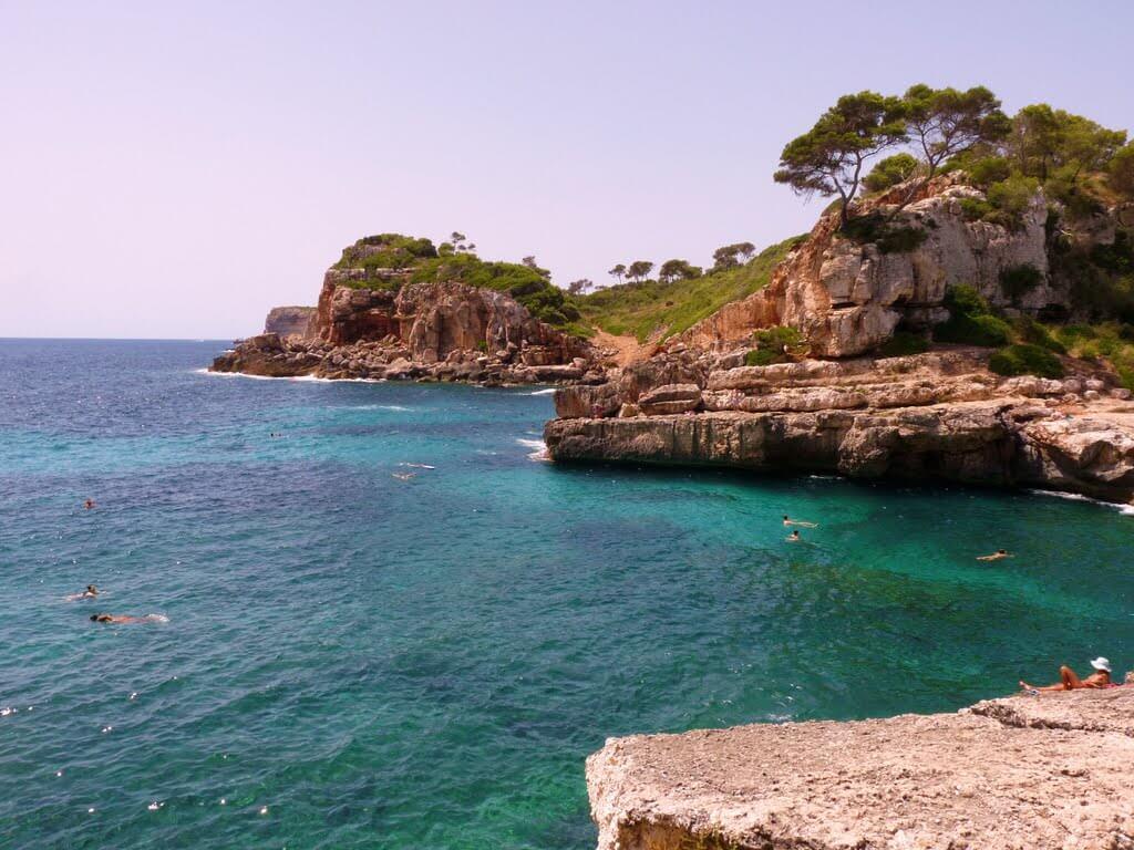 Strand Cala s'Almunia auf Mallorca