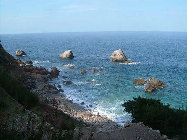 Strand bei Lluc Alcari: Es Canyaret auf Mallorca