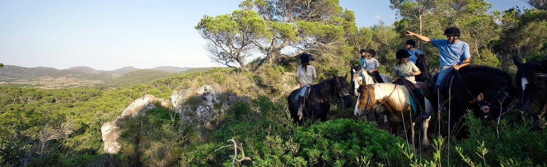 Pferde in Menorca reiten