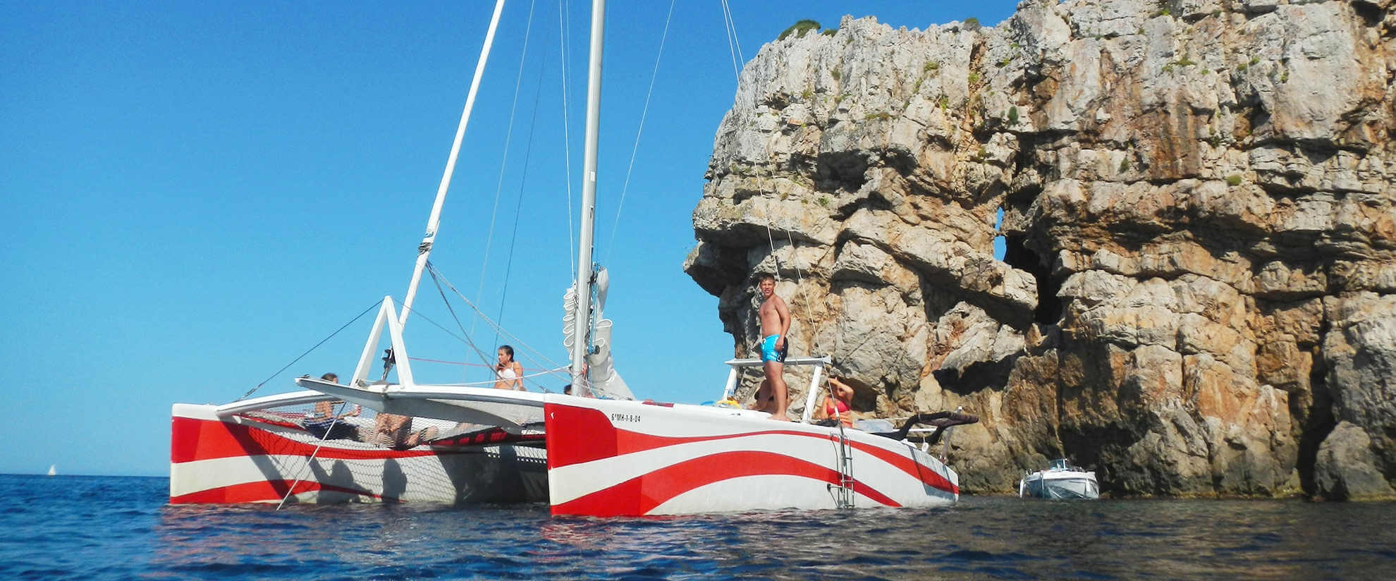 Enjoy Menorca by catamaran