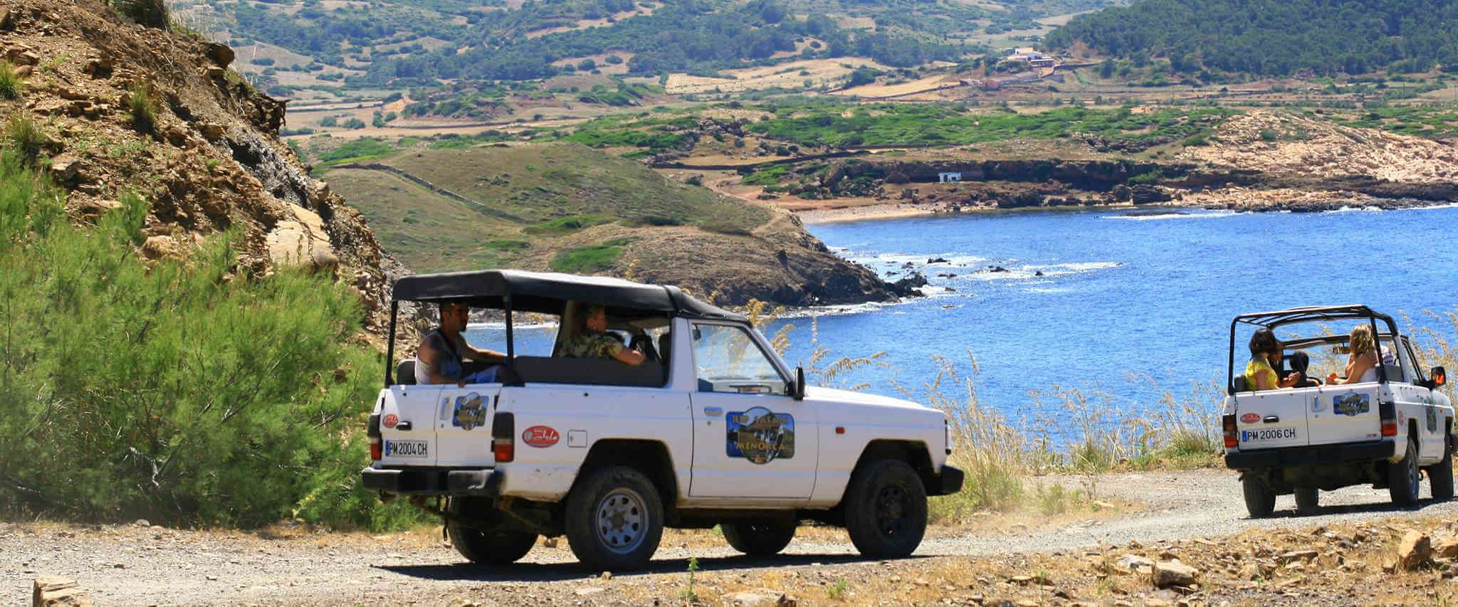 The best jeep safari in Menorca