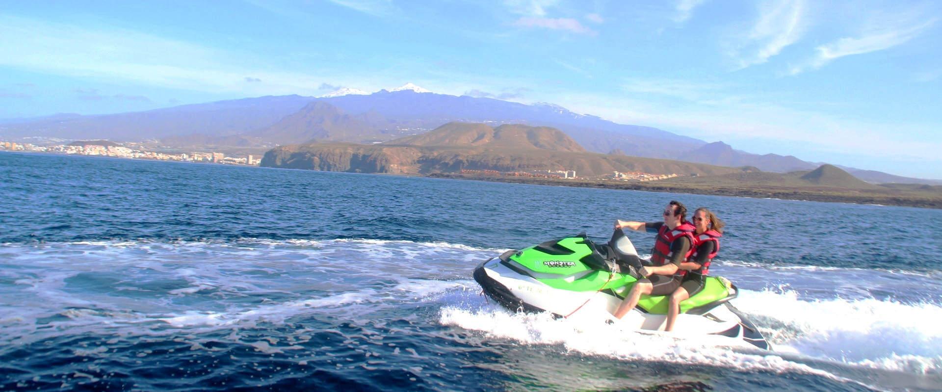 jet ski in Tenerife