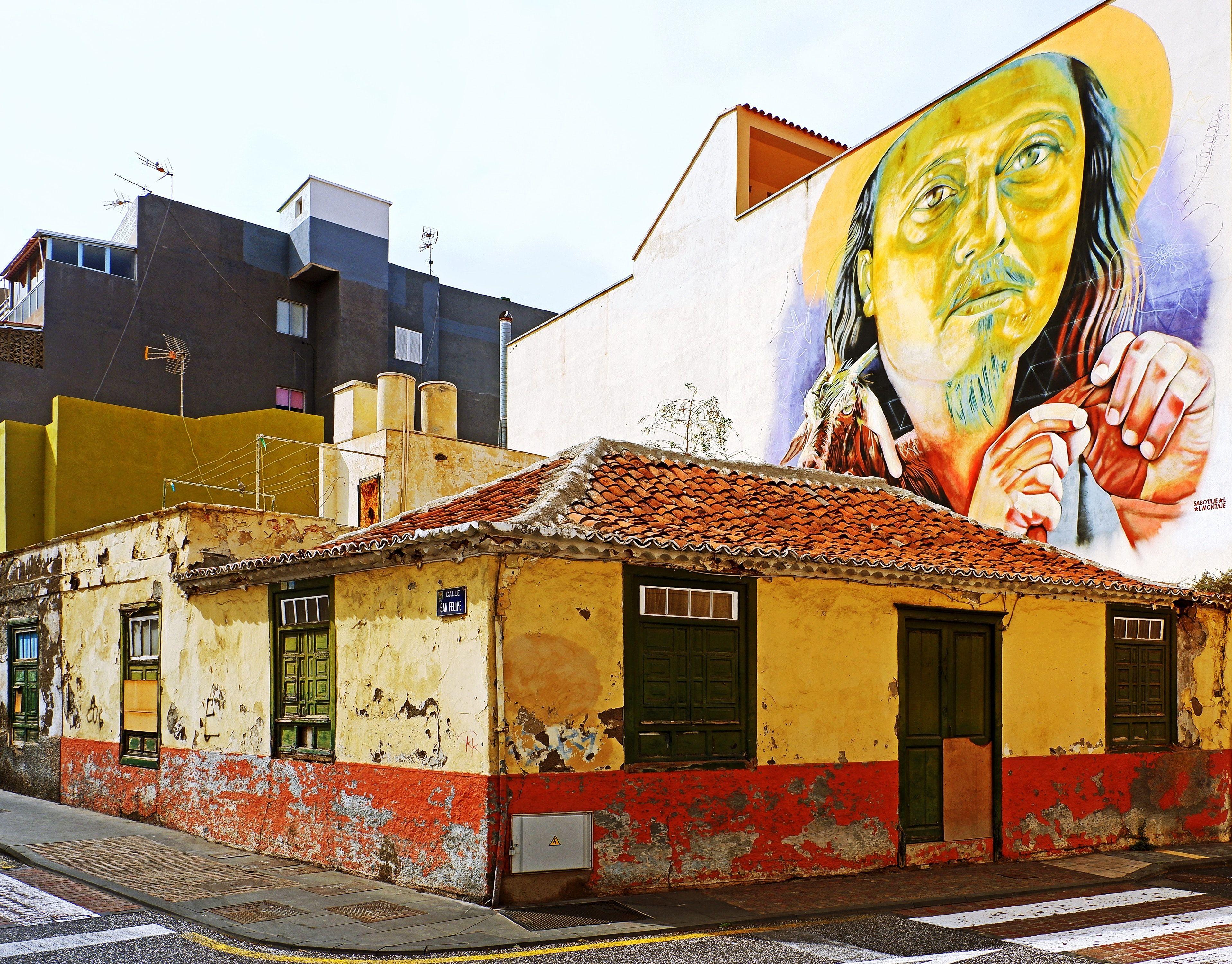 Teneriffa Fotomotive in der Stadt